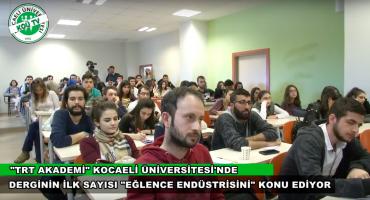 TRT Akademi Söyleşileri – Eğlencenin Felsefesi ve Dijital Medya (KOÜ TV)