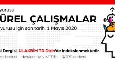 TRT Akademi Dergisi 10. Sayı Duyurusu