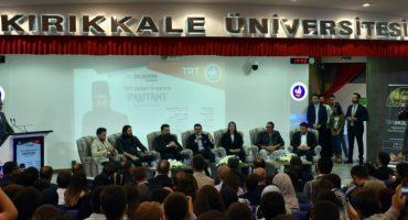 TRT Akademi Söyleşileri eğlenceli anlara sahne oldu