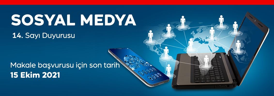 TRT Akademi Dergisi 14. sayı duyurusu: Sosyal Medya